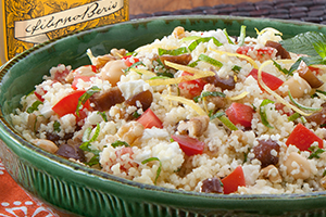 Couscous Salad with Walnuts & Dates