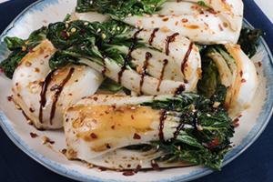 Balsamic Garlic Bok Choy