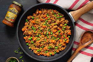 Pesto Cauliflower Fried Rice